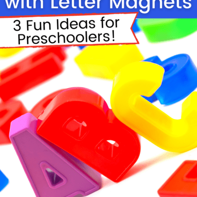 Introduce Phonics with Magnet Letters