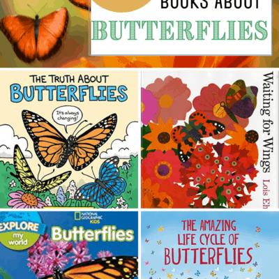 Nonfiction Books About Butterflies