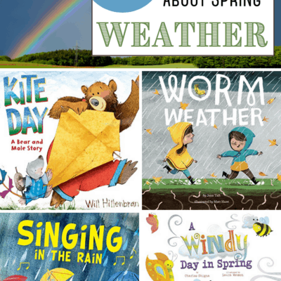 Spring Weather Books for Preschoolers
