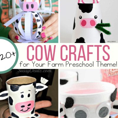 Cow Crafts for Preschoolers