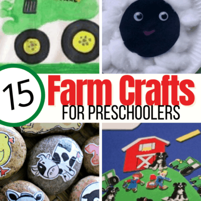 Farm Themed Crafts for Preschoolers