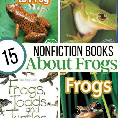 Nonfiction Frog Books