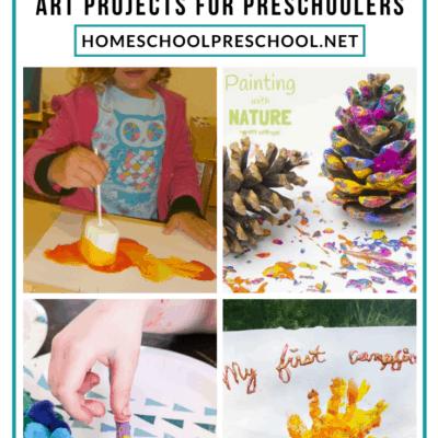 Camping Art Activities for Preschoolers
