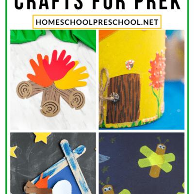 Camping Crafts for Preschoolers