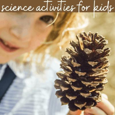 Camping Science Activities for Preschoolers