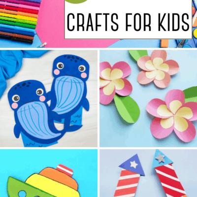 Paper Crafts for Preschoolers