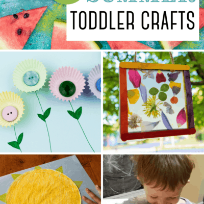 Summertime Crafts for Toddlers
