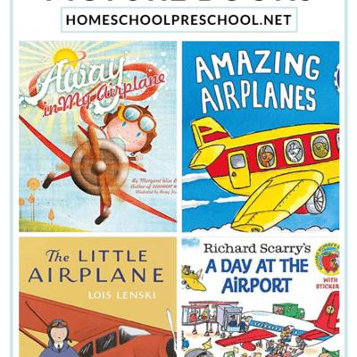 Airplane Books for Preschoolers