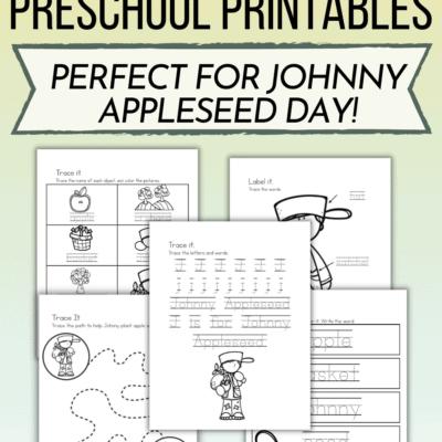 Johnny Appleseed Story Printable
