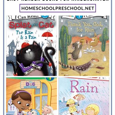 Books About Rain for Kindergarten