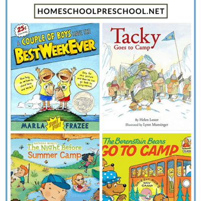 Books About Summer Camp