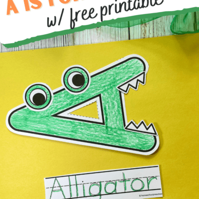 Alligator Craft for Kids
