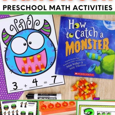 Halloween Preschool Math Activities