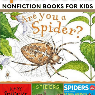 Nonfiction Spider Books