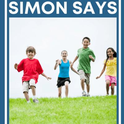 Let's Play Simon Says