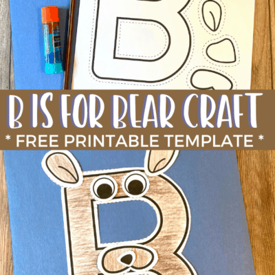 B is for Bear Craft