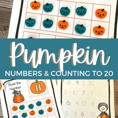 Pumpkin Preschool Math