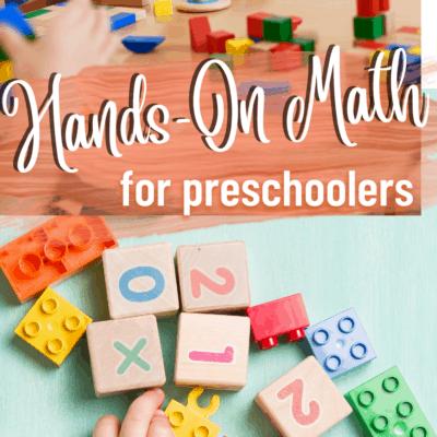 Hands-On Preschool Math