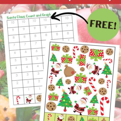 Santa Graphing Worksheets