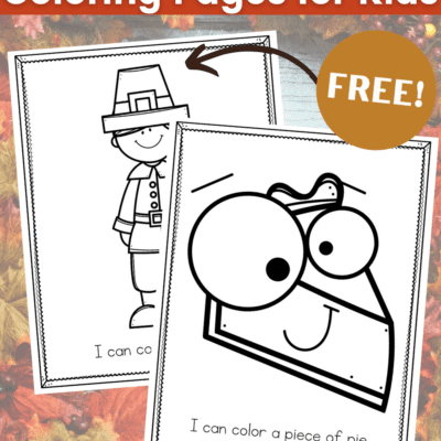 Printable Thanksgiving Coloring Pages for Toddlers
